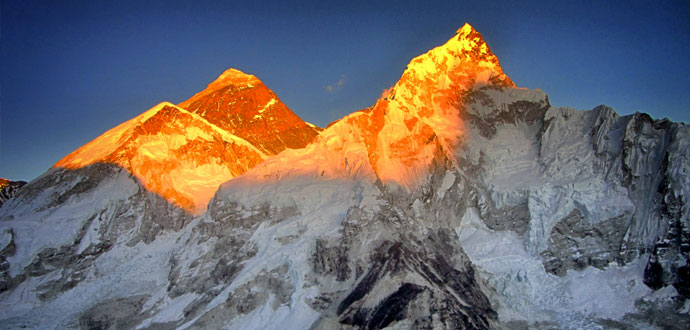 World highest peak Mt. Everest (8848 meter)