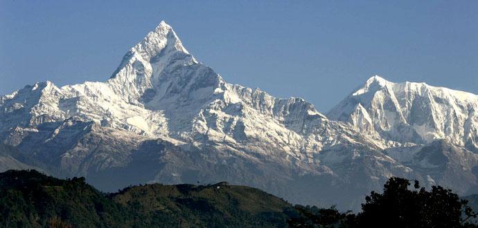 Mount Machhapuchchhre (6,993 meter)