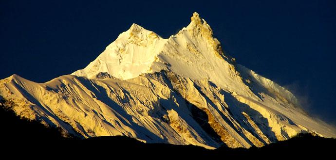 World's eighth highest mountain Mt. Manaslu (8,156 metres)